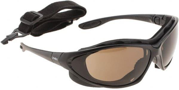 Black Uvex S0605X Seismic Safety Eyewear