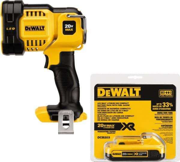 Dewalt 20V Cordless Electric LED Battery Work Light Lamp Flashlight 20 Volt New