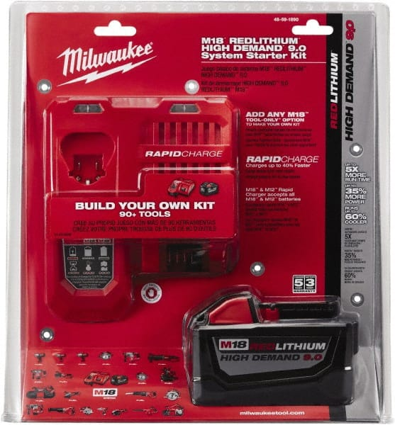 Milwaukee Tool Lithium Replacement Battery | MSCDirect com