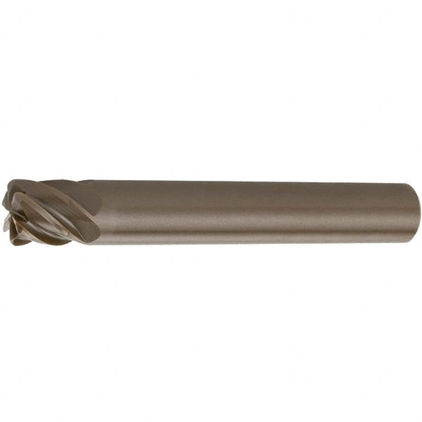 Micro 100 CRE-187-062X 3 Flute Corner Rounding Double End Mill 0.0625 Radius Solid Carbide Tool 0.060 Minor Diameter 3//16 Shank Diameter AlTiN Coated 2 Overall Length