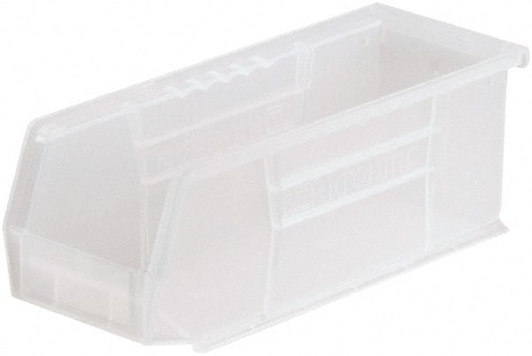 12-Pack Clear Akro-Mils 30230 Plastic Storage Stacking AkroBin 11-Inch by 5-Inch by 5-Inch