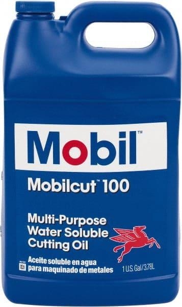 Mobil - Mobilcut, 1 Gal Bottle Cutting Fluid - 42963918 - MSC