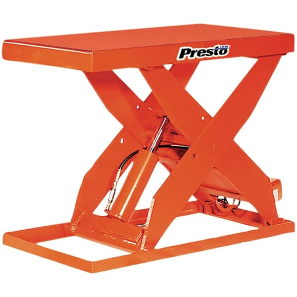 Presto Lifts 3000lb 24x48 Hand Op Scissor Lift Table XL36 30 2448