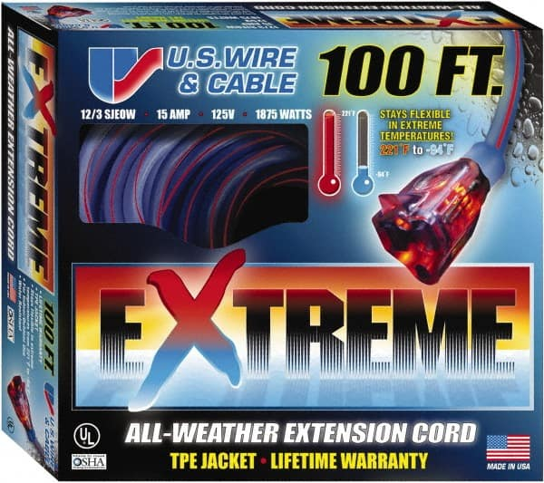 100 Foot Extension Cord | MSCDirect.com