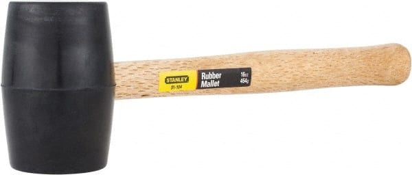 1lb Hammer style poly mallet yellow with defects