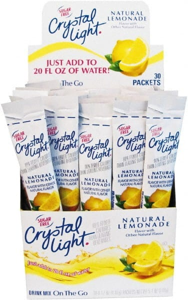Crystal Light Pack Of 30 Lemonade Flavored Drink Mix