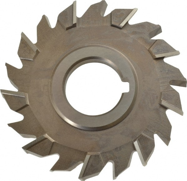 HSS Double Shank KEO Milling 72801 Double-Angle Cutter 60/° Angle Uncoated Coating 12-Flute 5//16 Width 1//2 Shank Diameter 1 Cutting Diameter 2-27//32 Length
