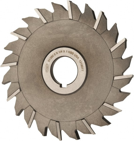 TiAlN Coating 5//32 Width KEO Milling 80924 Straight Tooth M42 Slitting Saw,CMT Style HSCO 1 Arbor Hole 32 Teeth 3 Cutting Diameter
