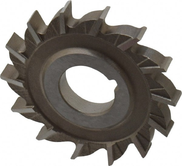 HSCO 3//32 Width TiN Coating 1-1//4 Arbor Hole 4 Cutting Diameter 36 Teeth KEO Milling 96431 Straight Tooth M42 Slitting Saw,CMT Style