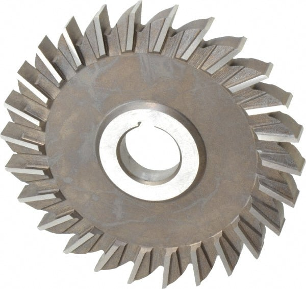 """5 x 3//8 x 1/"""" HSS Side Milling Cutter Straight Tooth"""
