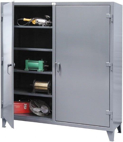 6 Shelf Locking Storage Cabinet, Storage Cabinets With Lock