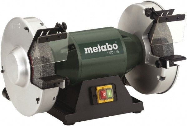 Metabo 10 Wheel Diam X 1 1 2 Wheel Width 1 1 2 Hp Bench Grinder 44715464 Msc Industrial Supply