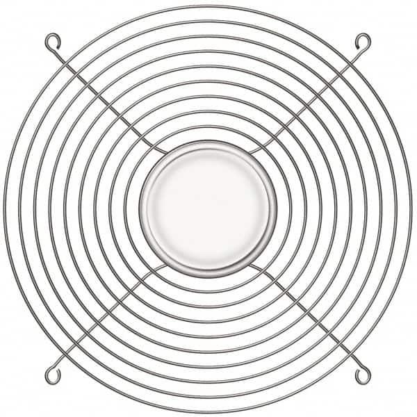 254mm 10 Wire Chrome Fan Guard 44906162
