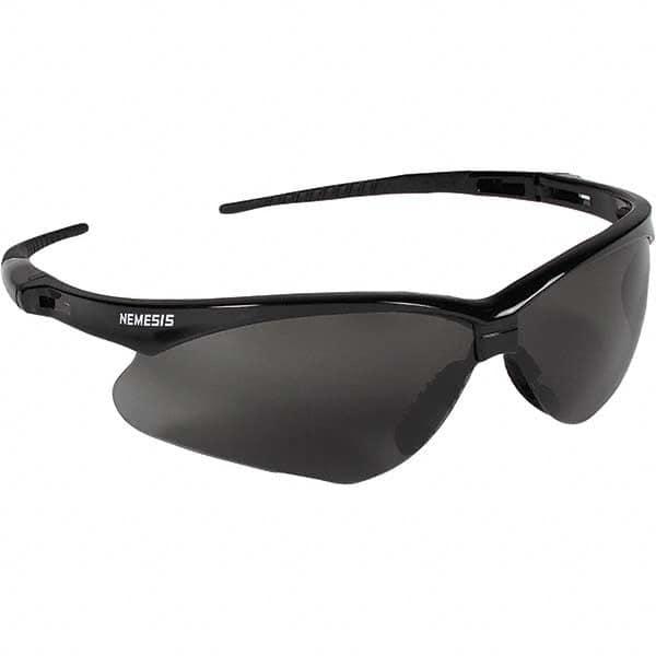 jackson safety blk w smoke af lens nemesis safety glasses 22475