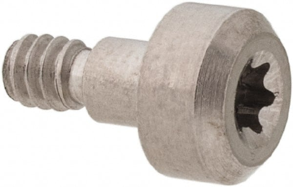 8-32 Thread Pack of 10 Slotted Head Morton 9262 Stainless Steel 303 Shoulder Screw 1-3//32 Length