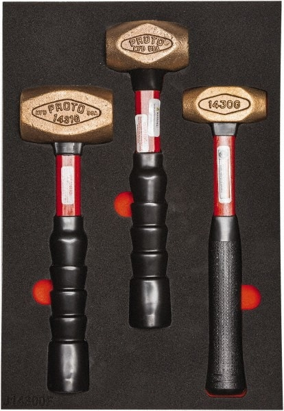 Proto 3 Piece 2 5 8 1 1 2 1 Lb Head Weight Dead Blow Hammer Set 46115382 Msc Industrial Supply 48oz highvisual dead blow hammer model: msc industrial supply