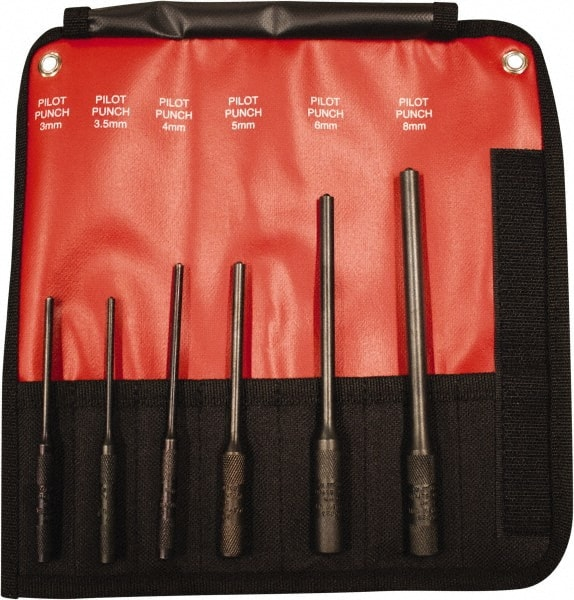 5-5//8 OAL Value Collection 1-3//8 Steel Arch Punch 5 Pack