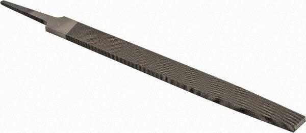 PFERD Flat Hand File American Pattern 25//32 Width 7//32 Thickness Medium Double Cut 8 Length Rectangular