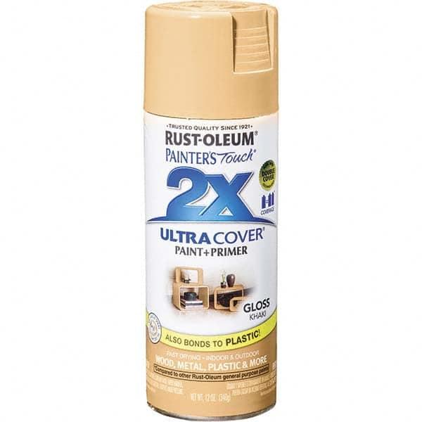 Rust Oleum Khaki Color Gloss Enamel Spray Paint