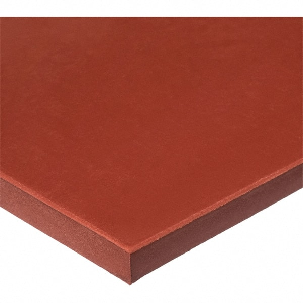 """Fiberglass Reinforced 36/""""x36/"""" Red Silicone Rubber Sheet 1//8/"""" thick High Temp FDA"""