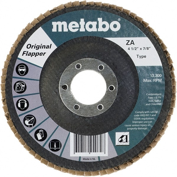 "120 GRIT 50 PACK PREMIUM ZIRCONIA FLAP DISC SANDING GRINDING 4-1//2/"" X 7//8/"""