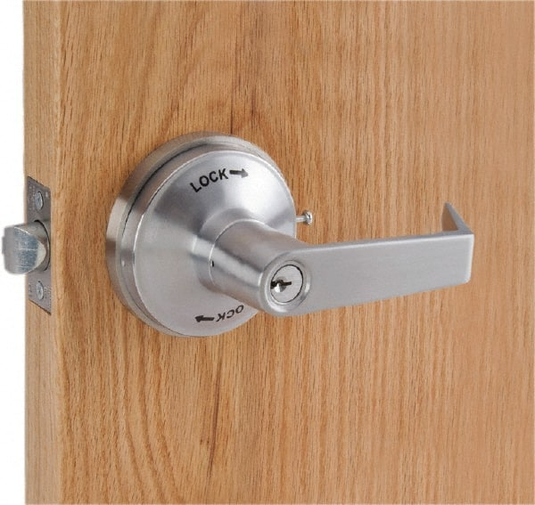 """Classroom Intruder Lever Lockset for 1-3/4 to 2-1/4"""" Thick Doors"""