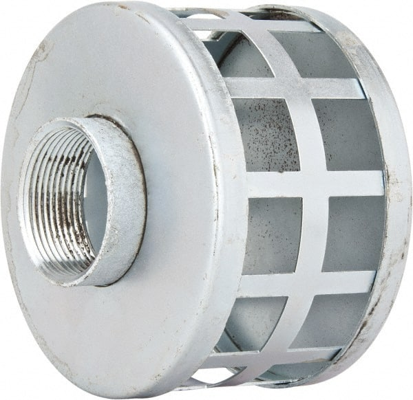 1 1//2 1 1//2 Kuriyama of America Inc. Kuriyama RHS150 /Round Hole Steel Strainer