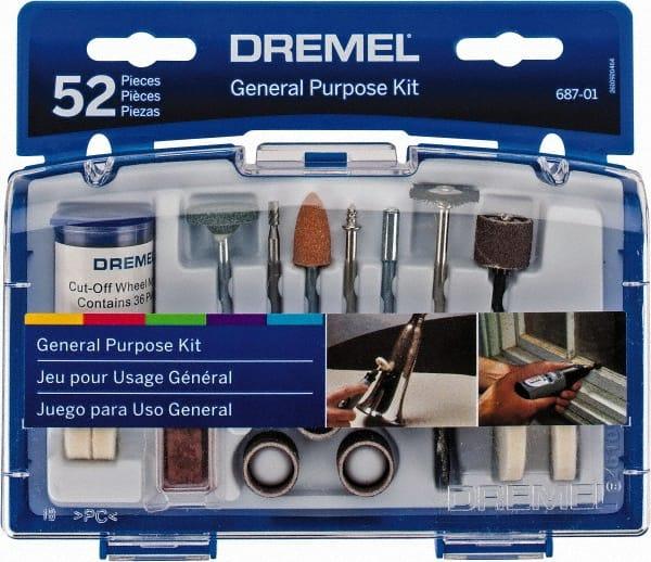Dremel - 52 Piece Cutoff Wheels, Dressing Stones, Wire Brush