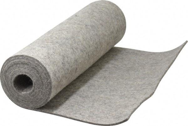 FELT pressed sheet grey 8mm size 60x120cm