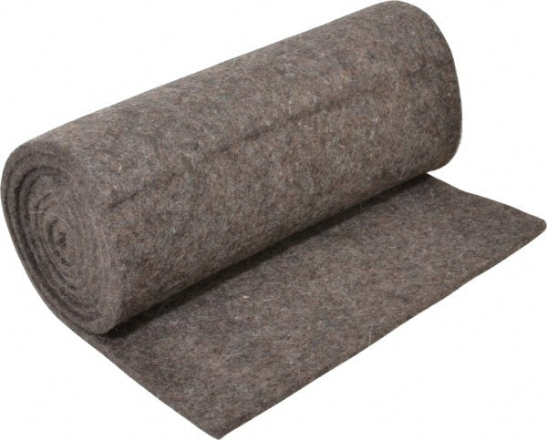 Select 1/4inches x72x1'frm Gry Felt Pressed Wool Felt F-13 1