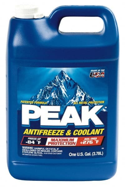 Ethylene Glycol Antifreeze >> Peak 1 Gal Antifreeze Coolant 48635254 Msc Industrial Supply