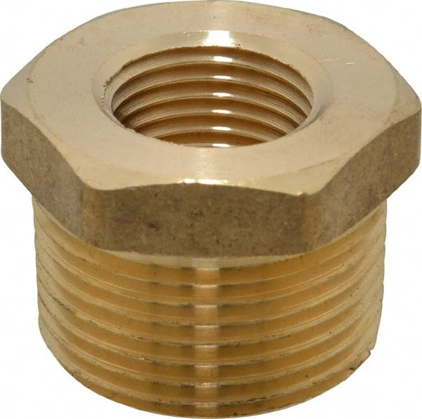 Xucus DRELD 1//8 1//4 3//8 1//2 Male Thread Tee Type 3 Way Brass Pipe Fitting Adapter Coupler Connector for Water Air Pneumatic Tools Thread Specification: 1//4