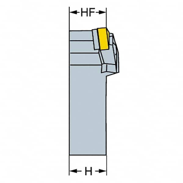 """TMX  MWLNR 16-4D 1/"""" SHANK USES WNMG 432 INSERTS USED 1 PC."""