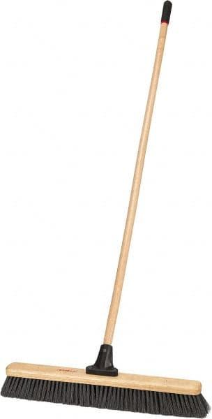 24 Inch Heavy Duty Push Broom Mscdirect Com