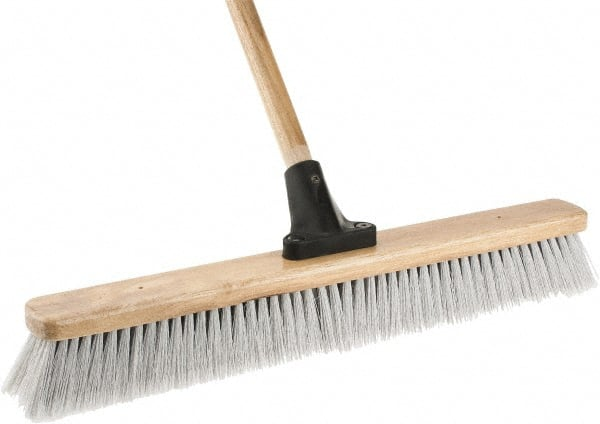 Harper Brush 24 Fine Particle Synthetic Push Broom 50023548 Msc Industrial Supply