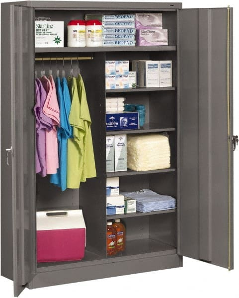 NO IMAGE AVAILABLE. Tennsco 6 Shelf Combination Storage Cabinet ... & Tennsco Cabinet | MSCDirect.com