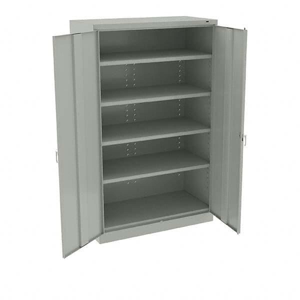 5 Shelf Locking Storage Cabinet, 24 Inch Deep Storage Cabinets