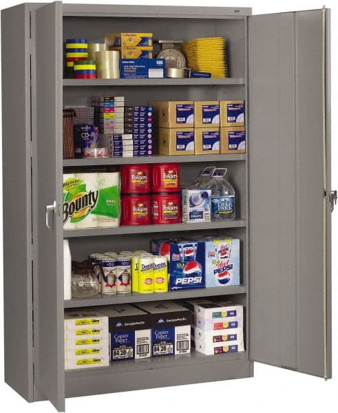 NO IMAGE AVAILABLE. Tennsco 5 Shelf Locking Storage Cabinet ... & Steel Welded Tennsco Storage Cabinet | MSCDirect.com