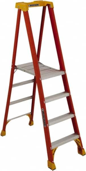 Louisville Step Ladders Type Platform Ladder Height Feet 3