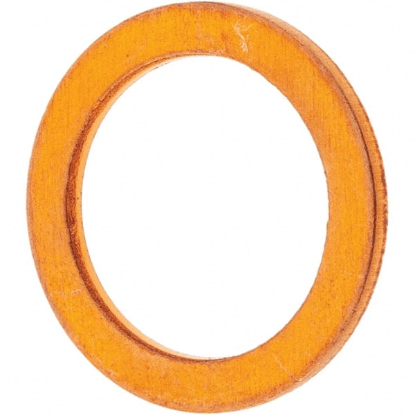 Qty 20 COPPER WASHERS OD 15.7 mm  ID 12.4 mm Thickness 1.4 mm