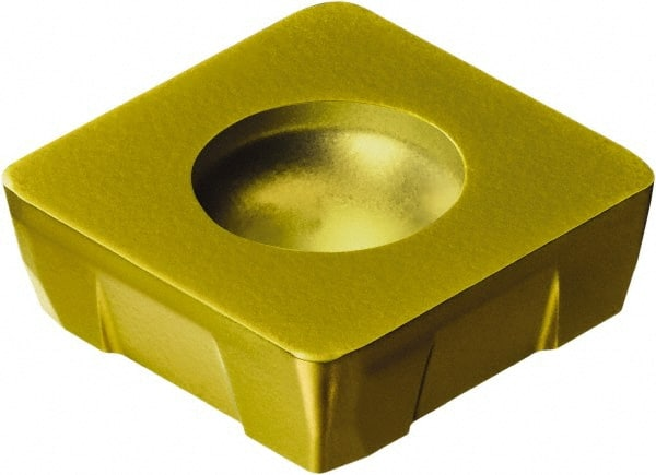 Square CoroMill 490 Insert for milling TiN 4340 Grade Carbide Sandvik Coromant 490R-08T308M-PH 4340 CVD TiCN Al2O3 Right Hand