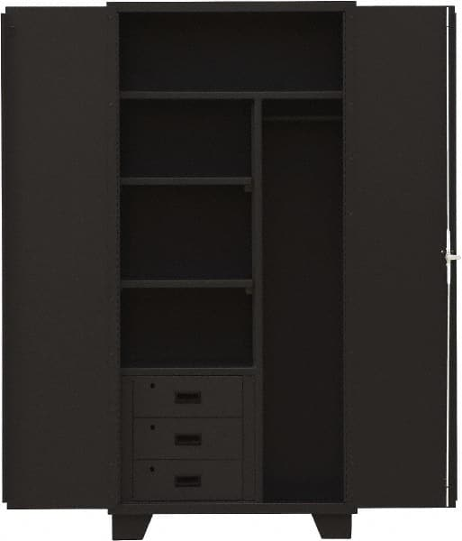 Jamco 3 Shelf Locking Storage Cabinet
