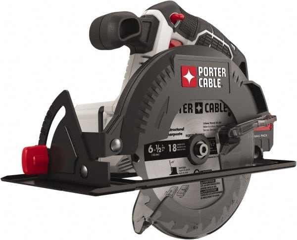 Porter Cable 20 Volt 6 1 2 Blade Cordless Circular Saw 52405529 Msc Industrial Supply