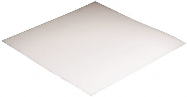 "UHMW Polyethylene Sheet 1//8/"" x 24/"" x 48/"" White"