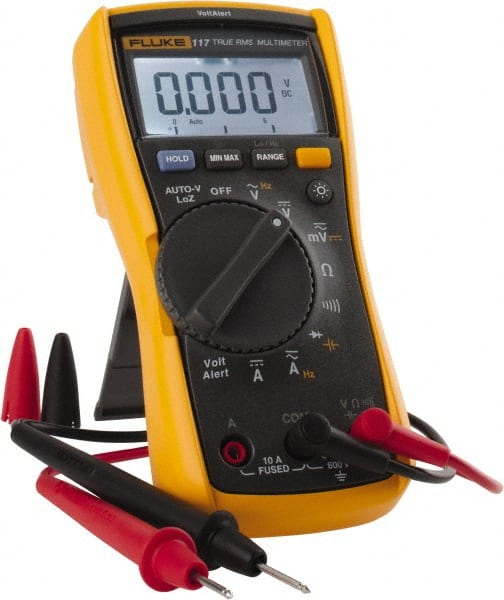 Fluke - 117, CAT III, 600 VAC/VDC, Digital True RMS Auto