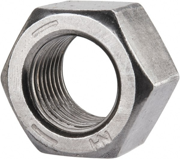 Hex Jam Nuts 18-8 Stainless Steel Qty-25 1//2-13 3//4 Flats x 5//16 Thick