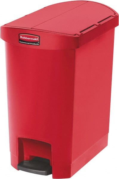 Rubbermaid - 8 Gal Rectangle Unlabeled Trash Can - 52797743 ...