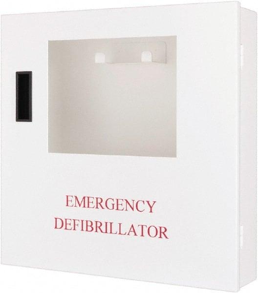 Defibtech Defibrillator Wall Mount Cabinet 18 Inch Wide X 4 High