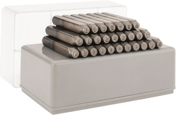 what is letter size steel stamp sets mscdirect 25561 | 5398940 24