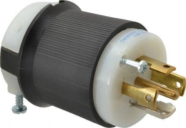 30 Amp 120//208 Volt NEMA L21-30R Locking Female Connector Assembly by AC WORKS®